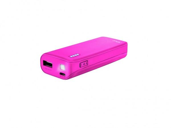 Trust Primo Summer Power Bank 4400 prenosivi punjač pink