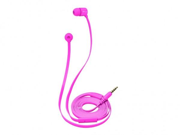 Trust Urban Duga slusalice neon pink