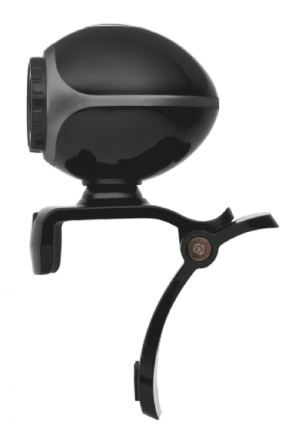 Trust Exis web kamera crno-srebrna