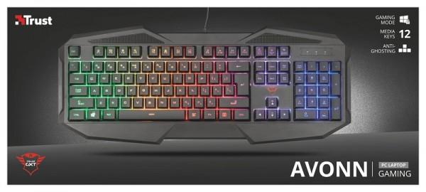 Trust Gaming GXT 830-RW Avonn  tastatura crna
