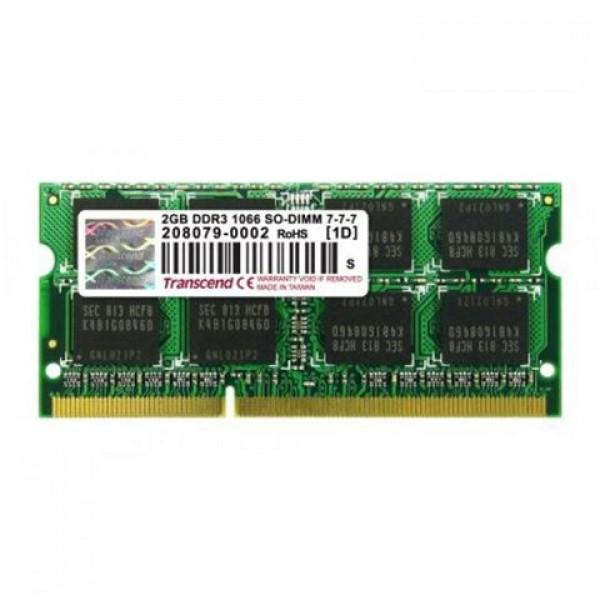 Transcend SODIMM DDR3 2GB 1066MHz (TS256MSK64V1U)