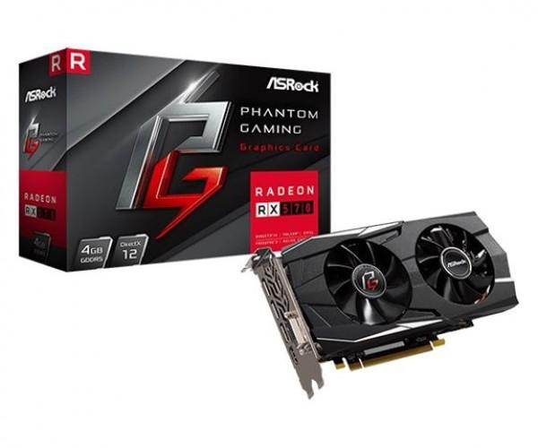 AsRock Radeon PHANTOM GDR RX 570 4GB Grafička kartica