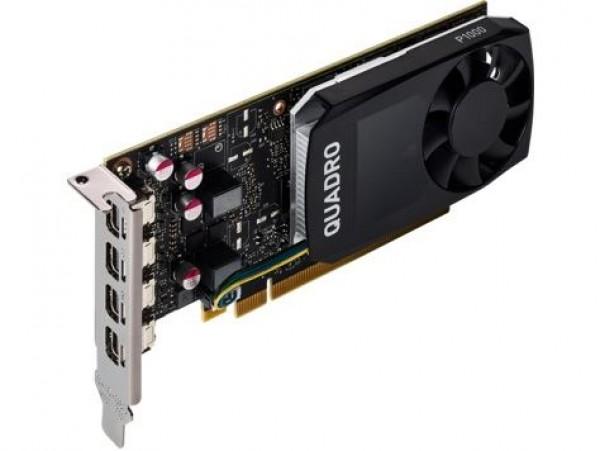 HP nVidia Quadro P1000 4GB Kit w2 Adapters (1ME01AA) Grafika za male radne stanice Grafička kartica