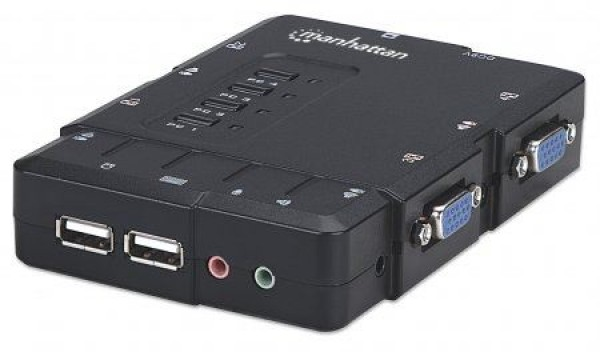 Intellinet KVM 4-portni switch