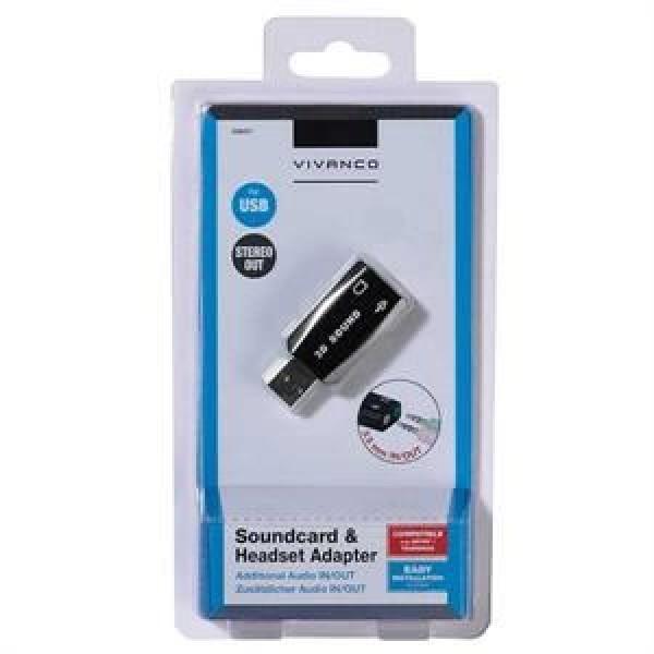 Vivanco Zvučna kartica USB 2.0