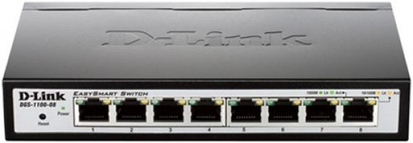 D-Link Switch DGS-1100-08