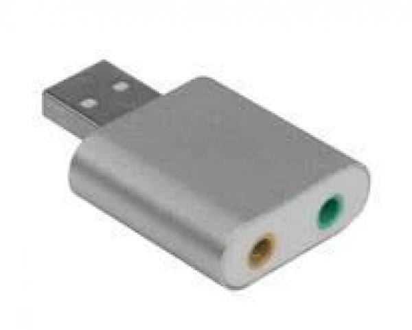 LINKOM Zvučna kartica USB 2.0  7.1ch metalna