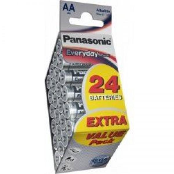 PANASONIC baterije LR6EPS24PD=AA 24 kom Alkalne Everyday