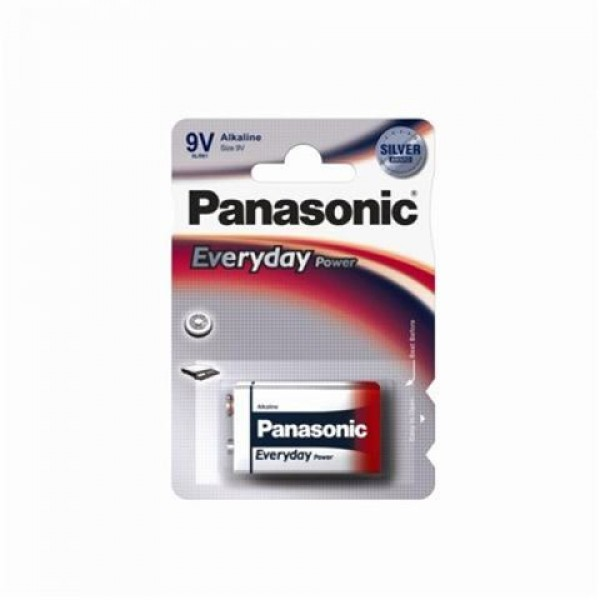 PANASONIC baterije 6LF22EPS1BP -9V Alkalne Everyday