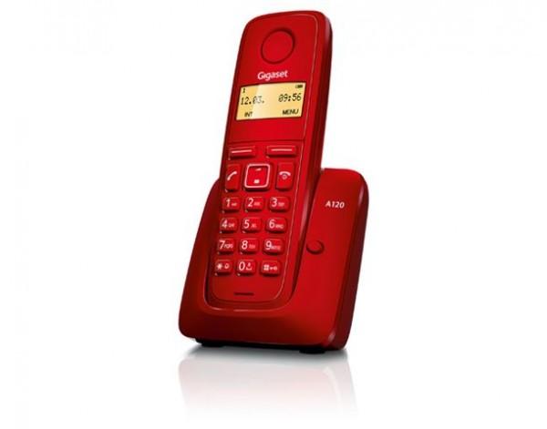 GIGASET telefon A120 red