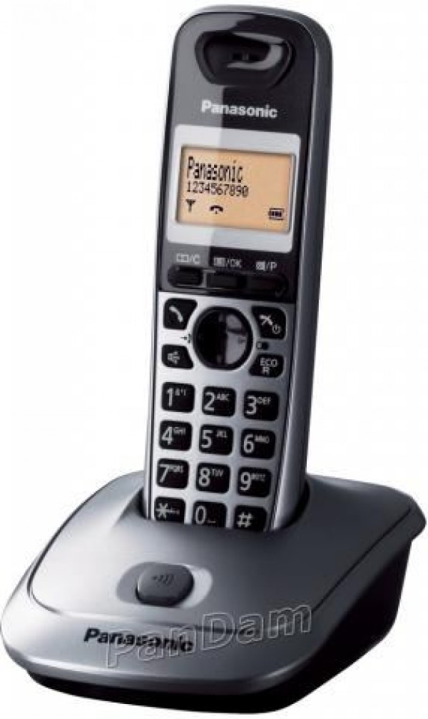PANASONIC telefon KX-TG2511FXM sivi