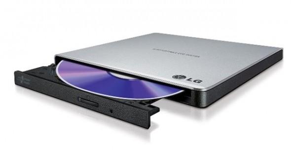 LG Eksterni DVD rezač GP57ES40 USB Slim Silver