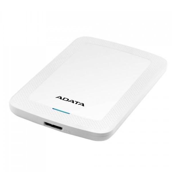 Adata Eksterni HDD  1TB 2.5'' USB 3.0 beli AHV300-1TU31-CWH