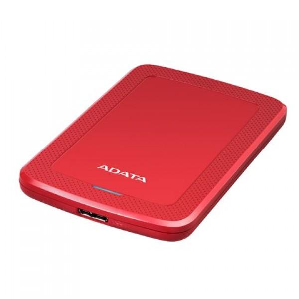 Adata Eksterni HDD  1TB 2,5'' USB 3.0 crveni AHV300-1TU31-CRD