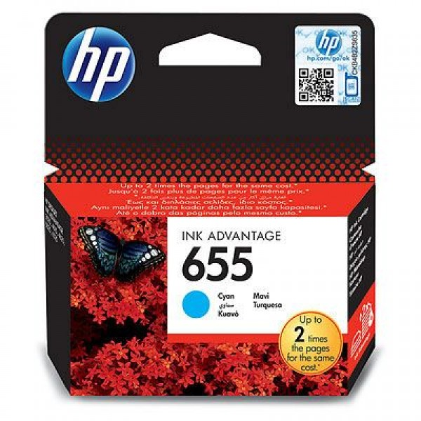SUP HP INK CZ110AE Cyan No.655