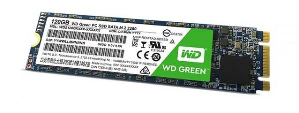 WD Western Digital SSD M.2 120GB WDS120G2G0B