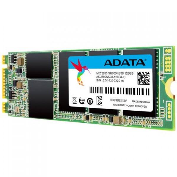 Adata SSD 128GB SU800 3D TLC M.2 SATA ASU800NS38-128GT-C