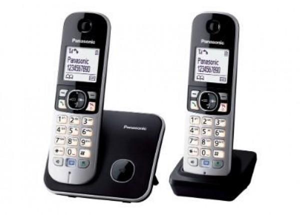 PANASONIC telefon KX-TG6812FXB DUO