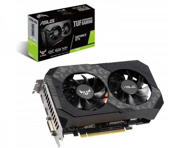 ASUS nVidia GeForce GTX 1660 6GB 192bit TUF-GTX1660-O6G