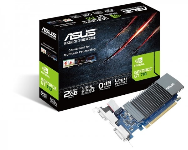 ASUS nVidia GeForce GT 710 2GB 64bit 710-SL-2GD5