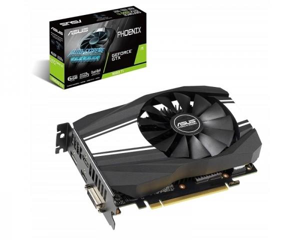 ASUS nVidia GeForce GTX 1660 Ti 6GB 192bit PH-GTX1660TI-6G