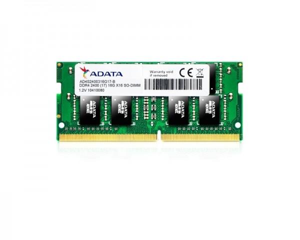 A-DATA SODIMM DDR4 16GB 2400Mhz AD4S2400316G17-R