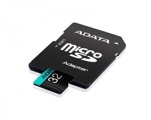 A-DATA UHS-I U3 MicroSDHC 32GB V30S class 10 + adapter AUSDH32GUI3V30SA2-RA1