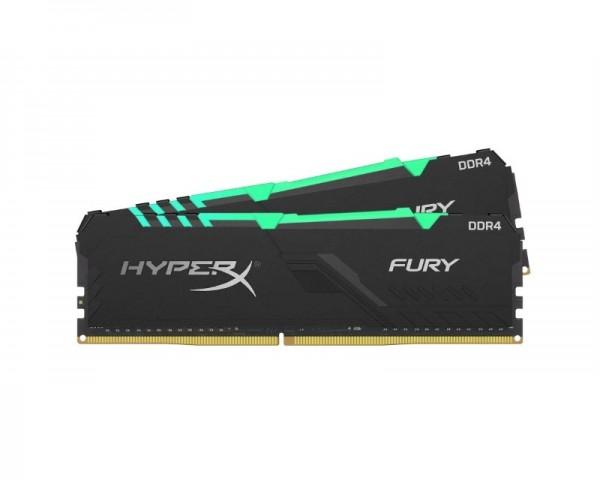 KINGSTON DIMM DDR4 32GB (2x16GB kit) 2400MHz HX424C15FB3AK232 HyperX Fury RGB