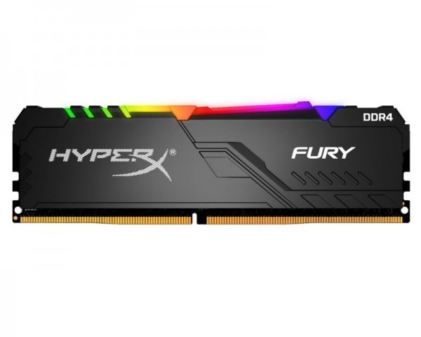 KINGSTON DIMM DDR4 8GB 2400MHz HX424C15FB3A8 HyperX Fury RGB