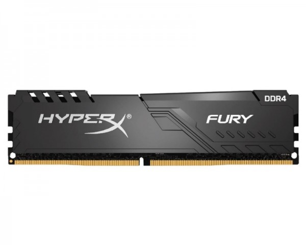 KINGSTON DIMM DDR4 4GB 2666MHz HX426C16FB34 HyperX Fury Black