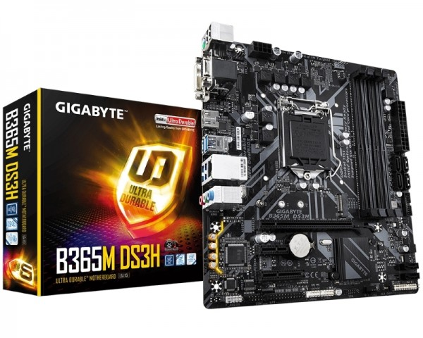 GIGABYTE B365M DS3H rev. 1.0