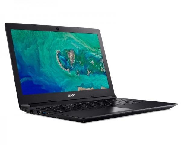 ACER Aspire A315-33-C4FZ 15.6'' Intel N3060 Dual Core 1.6GHz (2.48GHz) 4GB 500GB 2-cell Windows 10 Home crni