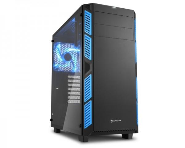 SHARKOON AI7000 Glass kućište plavo