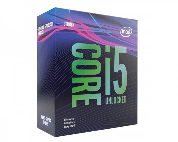 INTEL Core i5-9600KF 6-Core 3.7GHz (4.6GHz) Box
