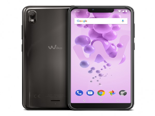 Wiko View 2 Go Anthracite