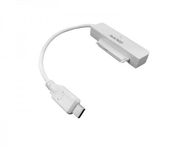 MAIWO Adapter USB 3.1 Type C to SATA za 2.5'' HDD K104AG1