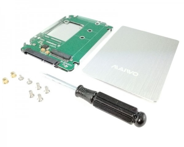 MAIWO Adapter M.2 SSD to  2.5 SATA kućište KT031B