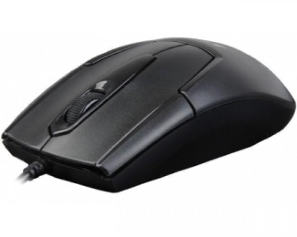A4 TECH N-301 V-Track Optical USB crni miš
