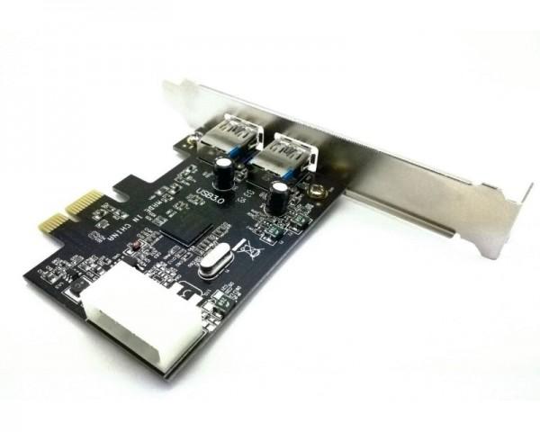 MAIWO PCI Express kontroler 2-port USB 3.0