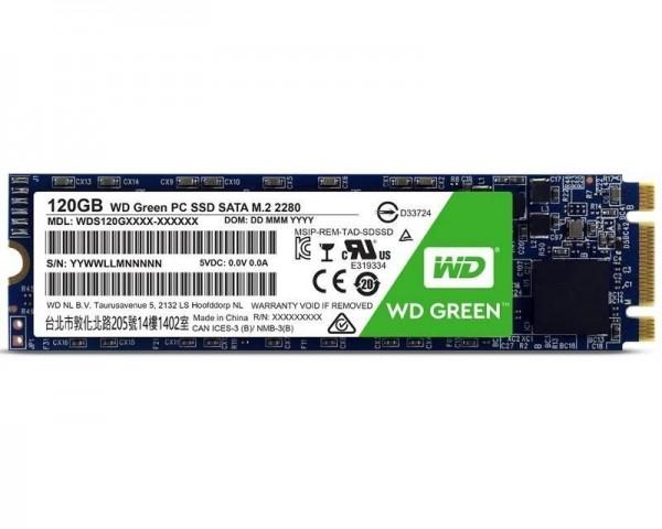 WD 120GB M.2 SATA III WDS120G2G0B Green