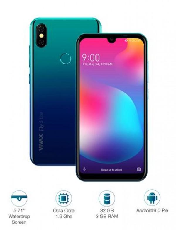 VIVAX SMART Fly5 Lite Polar plavi telefon