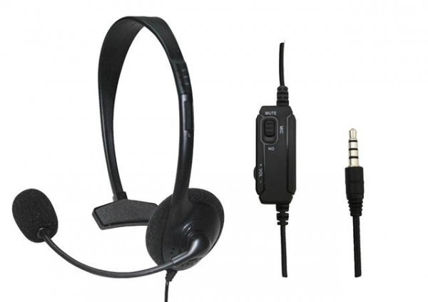SLUŠALICE MS HS-OFFICE slušalice s mikofonom