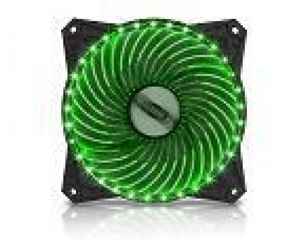 MS PC FREEZE 33LED zeleni ventilator