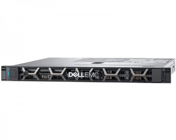 DELL PowerEdge R340 Xeon E-2124 4C 2x8GB H330 2x1TB SATA 2x16GB SD 350W (1+1) 3yr NBD + Sine za Rack