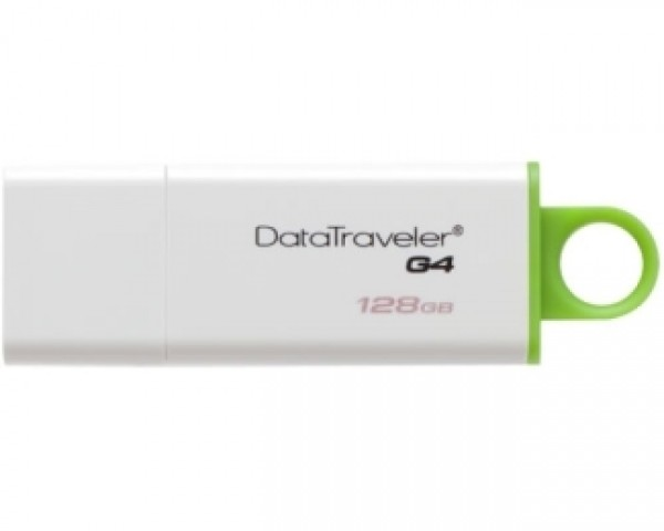 KINGSTON 128GB DataTraveler I Generation 4 USB 3.0 flash DTIG4128GB zeleno-beli