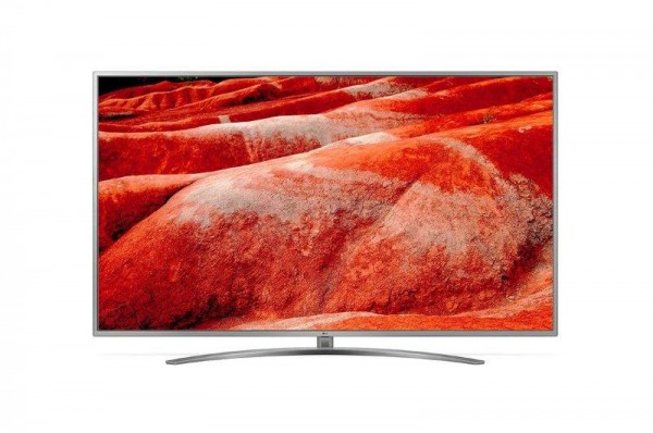 LG 82UM7600PLB LED TV 82'' Ultra HD, WebOS ThinQ AI, Steel Silver, Crescent stand, Magic remote