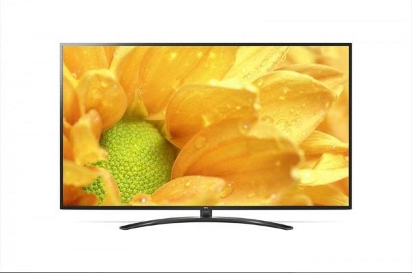 LG 70UM7450PLA LED TV 70'' Ultra HD, WebOS ThinQ AI, Ceramic Black, Crescent stand, Magic remote