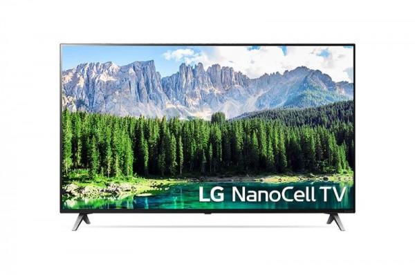 LG 55SM8500PLA LED TV 55'' NanoCell UHD, WebOS ThinQ AI, Cinema screen, Two pole stand, Magic remote