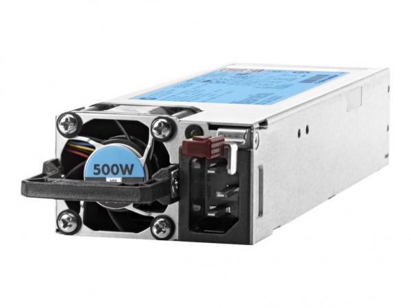 HPE 500W Flex Slot Platinum Hot Plug Low Halogen Power Supply Kit (Gen10)
