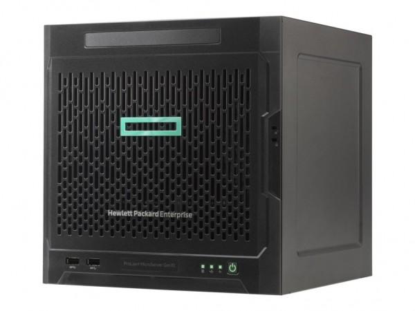 HPE ProLiant MicroServer Gen10 X3421 1P 8GB-U 4LFF NHP SATA 200W PS Soln Server